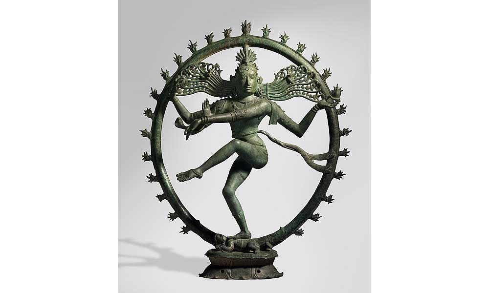 Shiva as Lord of the Dance (Nataraja), at the National Gallery of Australia