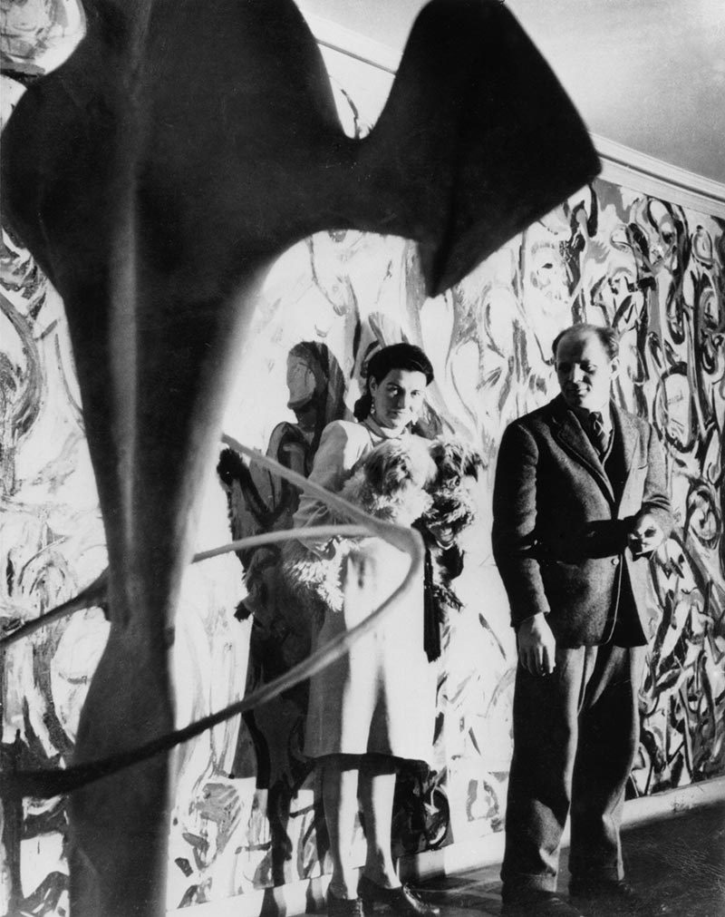A new lease of life for jackson pollock s mural apollo for Mural jackson pollock