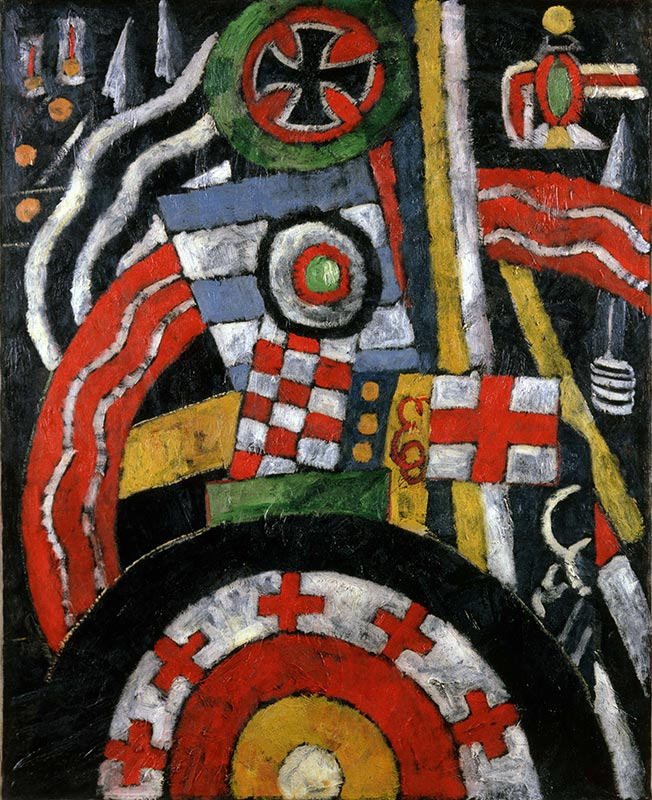 Review Marsden Hartley The German Paintings At Lacma Apollo