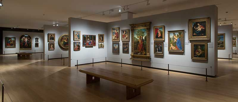 The refurbished Room A now displays 218 works from the reserve collection