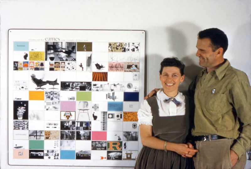 california dreaming reconsidering the work of charles and ray eames apollo magazine. Black Bedroom Furniture Sets. Home Design Ideas