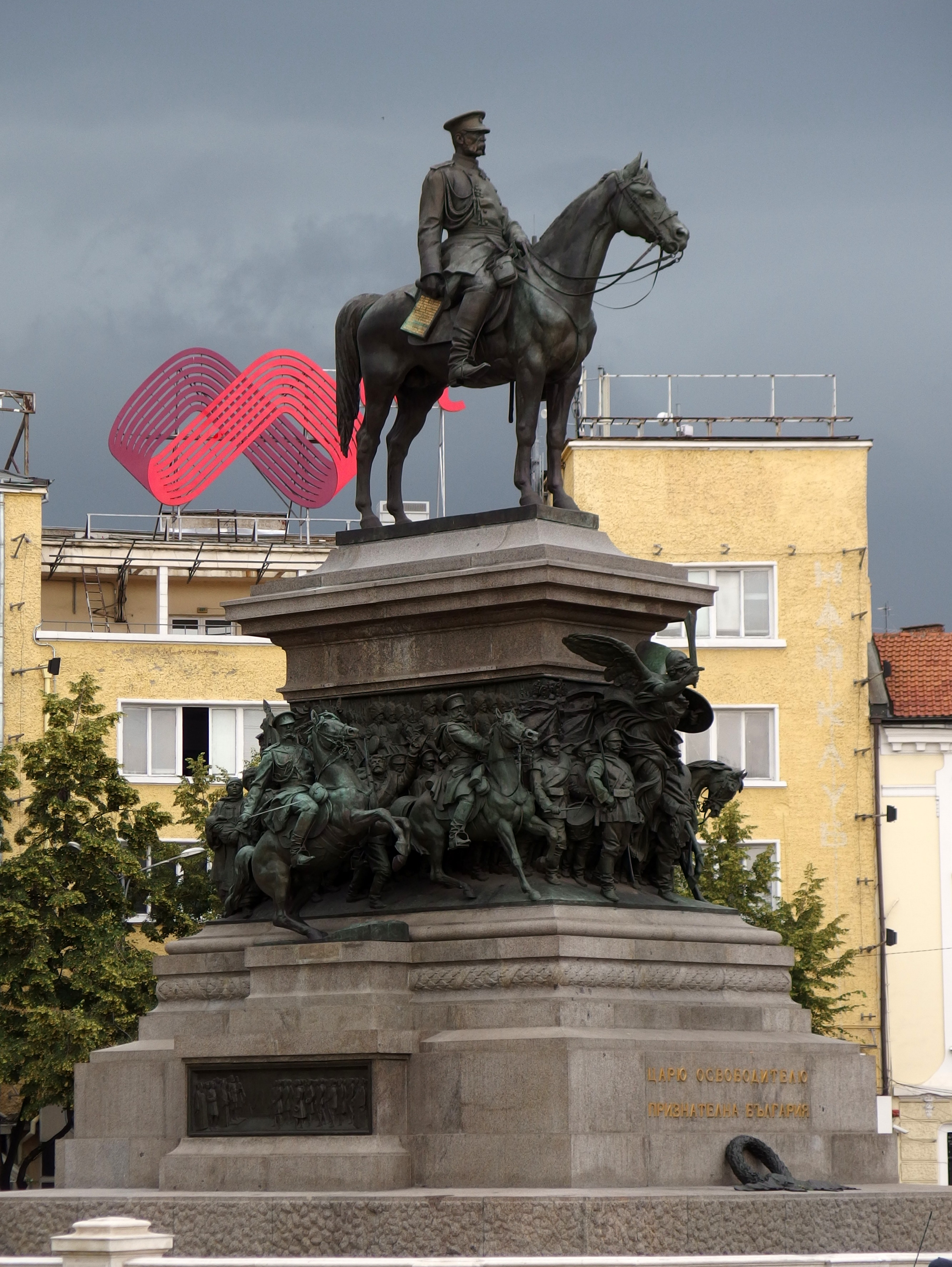 Monuments to artists and their characters