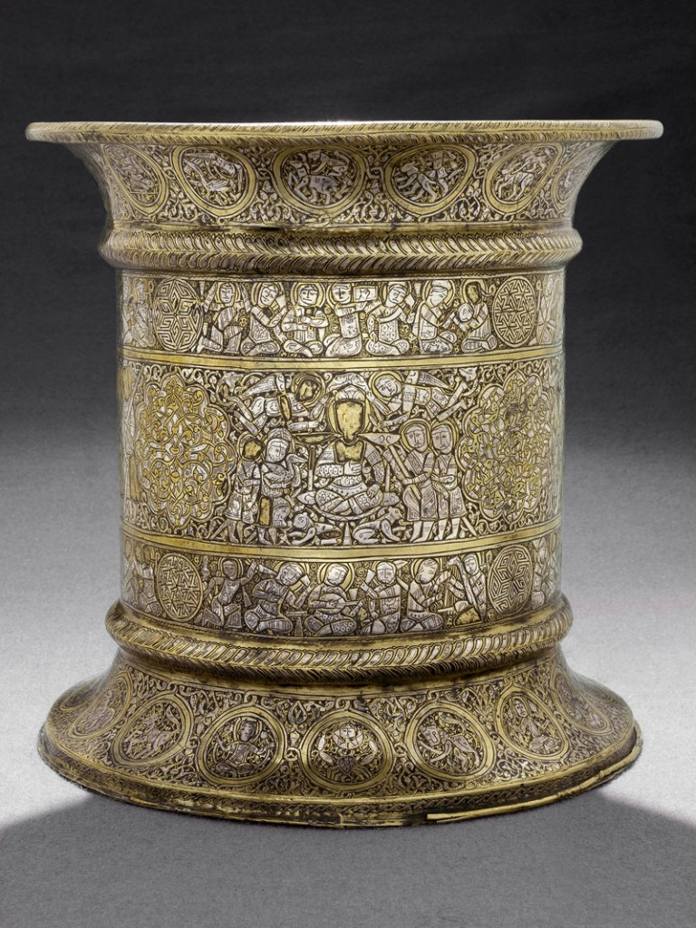 Tray stand (mid to late 13th century), JJazira or Syria, probably Mosul.