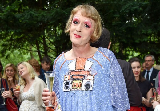 Grayson Perry at the Apollo summer party.