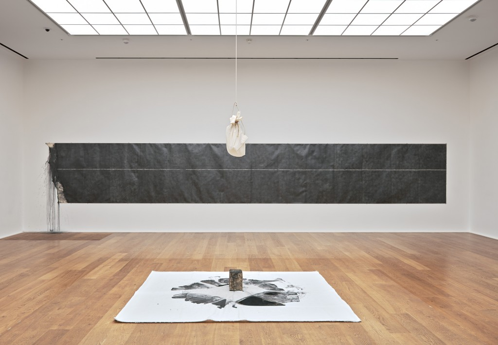 Installation view of Stream, 2013, at Hauser & Wirth, London.