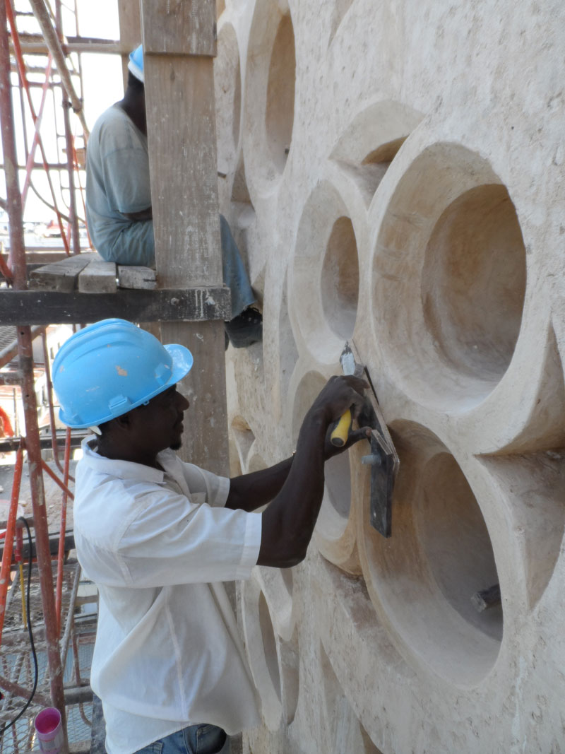 Christ Church Cathedral in Zanzibar, where the WMF have run a project to train local conservation stonemasons