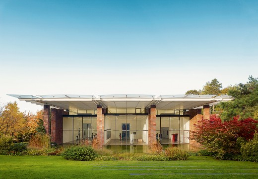 The Fondation Beyeler, Riehen, designed by Renzo Piano and home to the art collection of Ernst Beyeler