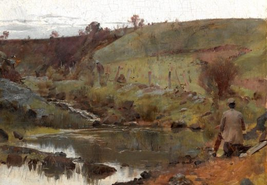 (1885), Tom Roberts. National Gallery of Australia, Canberra