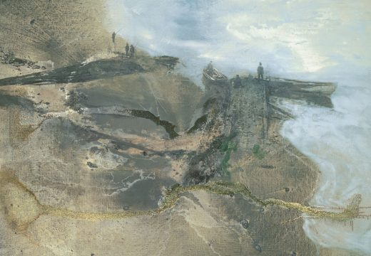 Thames Painting: The Estuary. (1994–95), Michael Andrews. © The Estate of Michael Andrews. Courtesy James Hyman Gallery, London. Photo: Mike Bruce/Gagosian