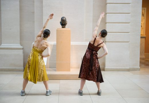 The Museum Workout is conceived and choreographed by Monica Bill Barnes & Company.