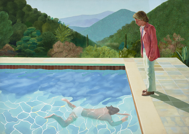 Portrait of an Artist (Pool With Two Figures) (1972), David H