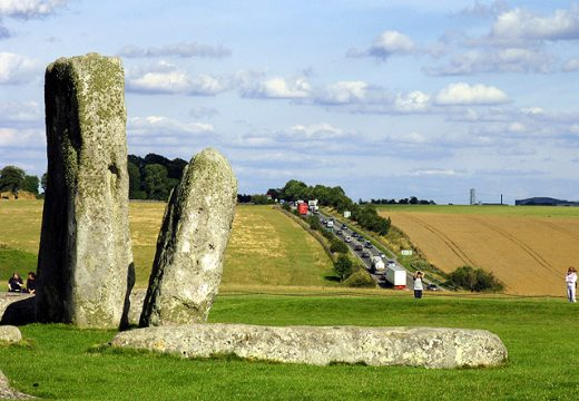 Stonehenge and the A303. Pam Brophy