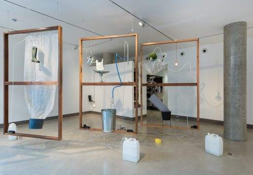 Installation view of Moré moré at White Rainbow, February 2017. Photo: Damian Griffiths; courtesy the artist and White Rainbow, London