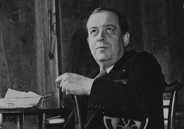 The Finnish art historian Tancred Borenius (1885–1948), photographed in his office in 1940. Photo: William Vandivert/Getty Images