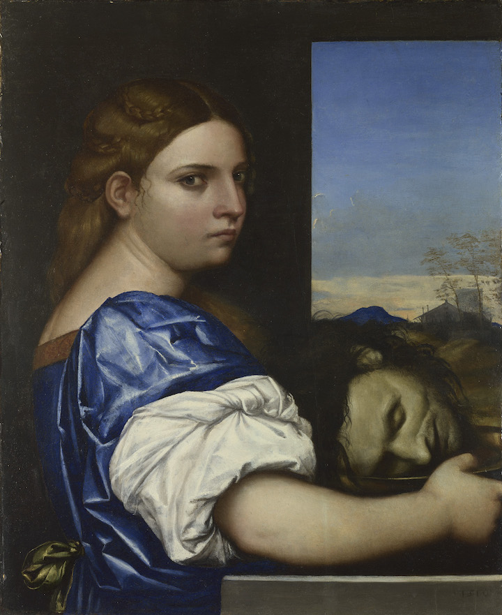 Judith (or Salome?) (1510), Sebastiano del Piombo. © The National Gallery, London