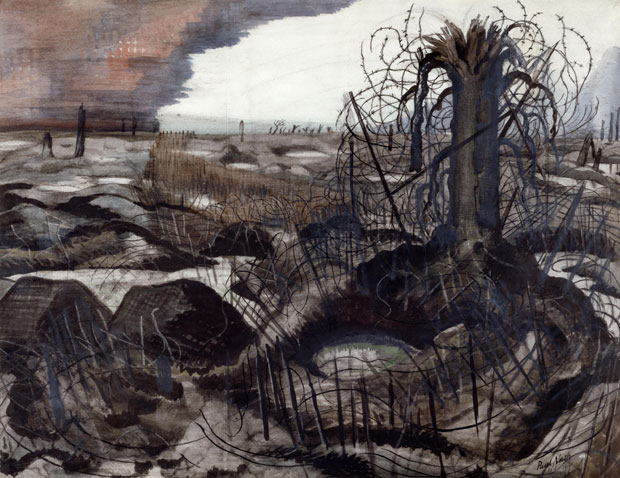 Wire (1918), Paul Nash